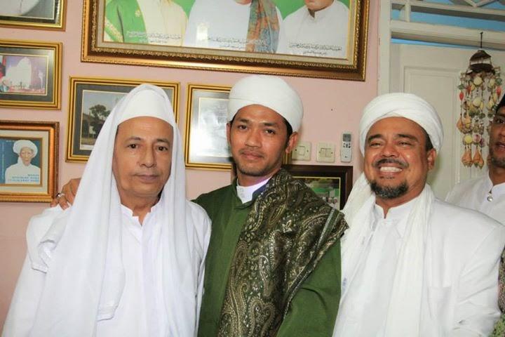 Muke Lu Jauh . Blogspot: Abah Lutfi Bersama Habib Rizieq ...