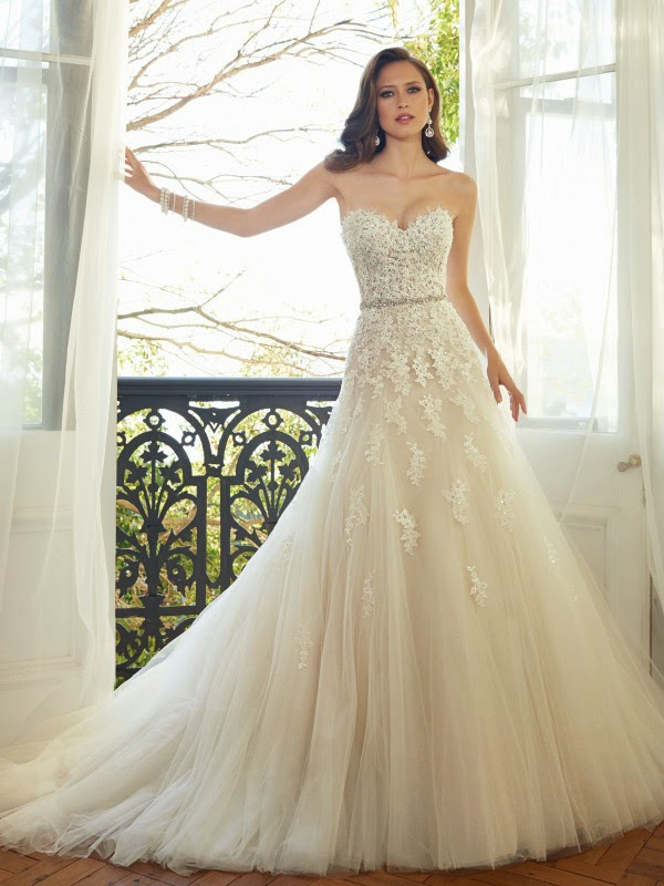 UNIQUE WEDDING DRESSES BY SOPHIA TOLLI - wedding ceremony gown - bridal dresses - WEDDING DRESS