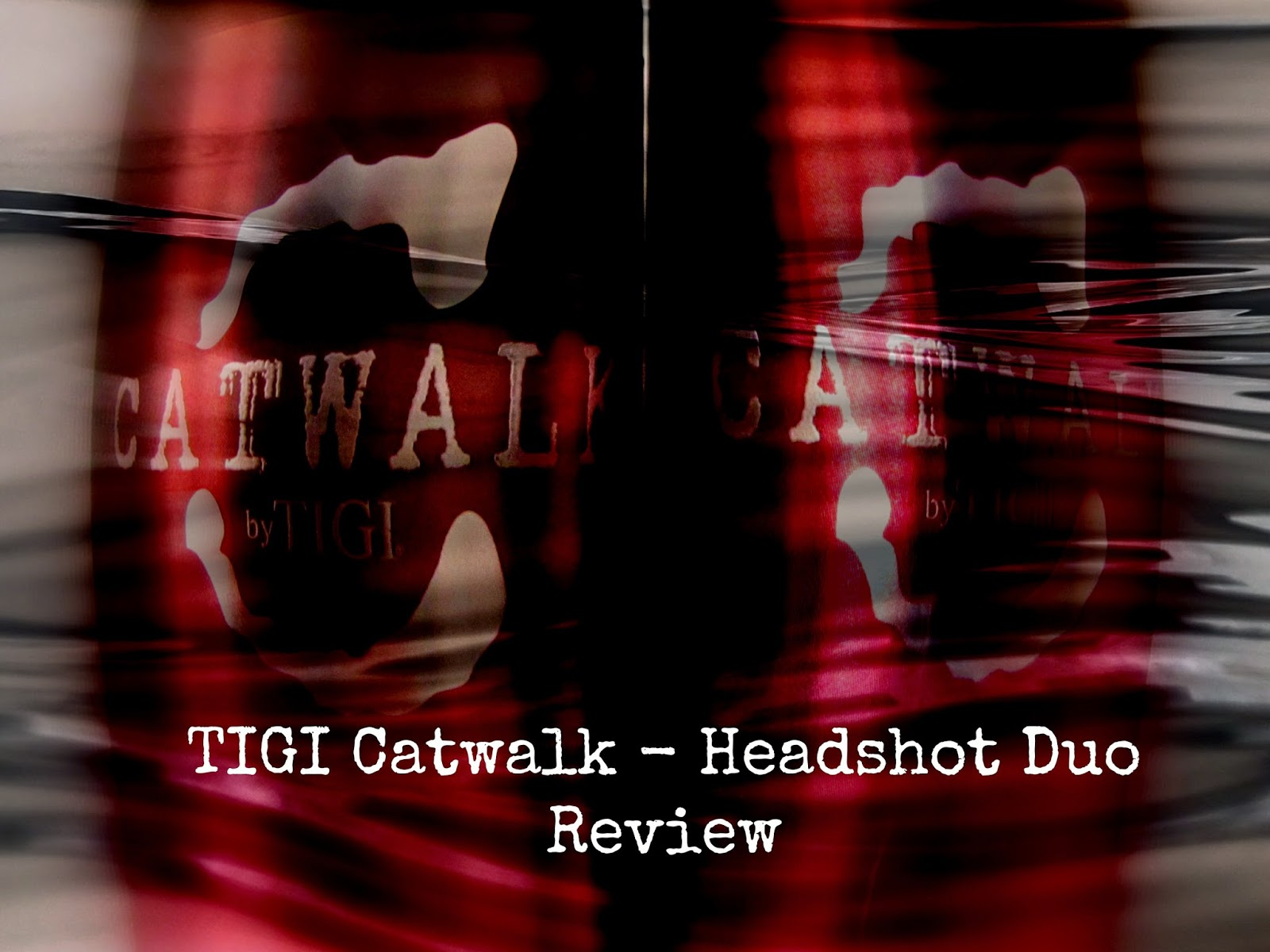 TIGI catwalk headshot duo review image from music and eyeliner