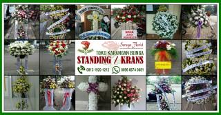 Bunga Krans Standing