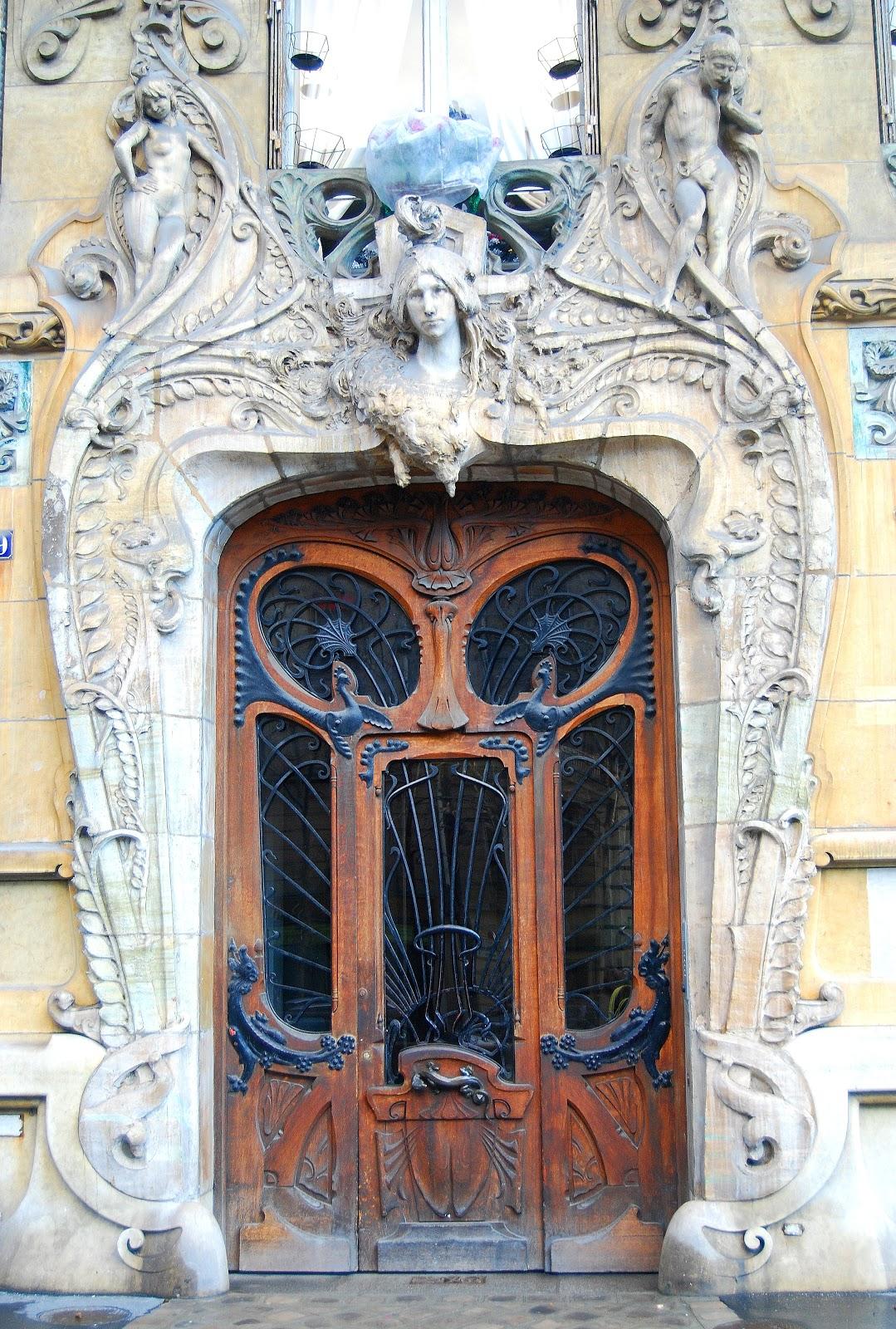 La influencia de arte en el dise o moderno el art nouveau for Decoracion art nouveau