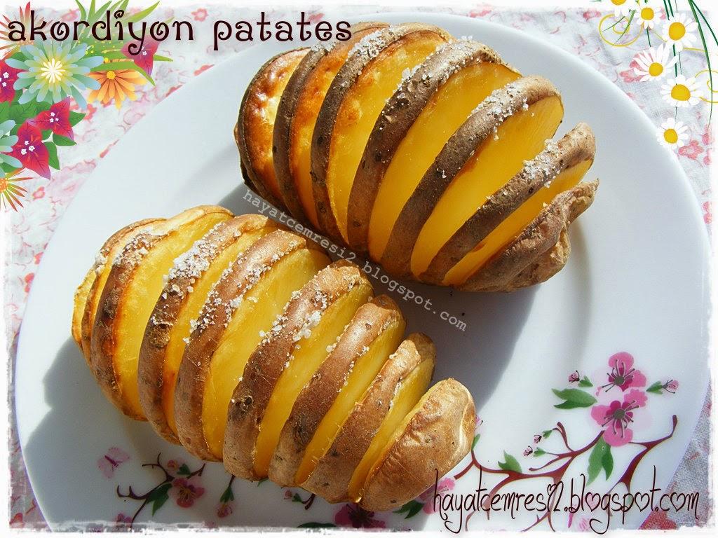 Akordiyon Patates Tarifi