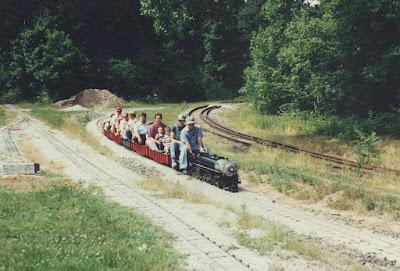 Steam train at the hesston steam museum hesston indiana june 1991