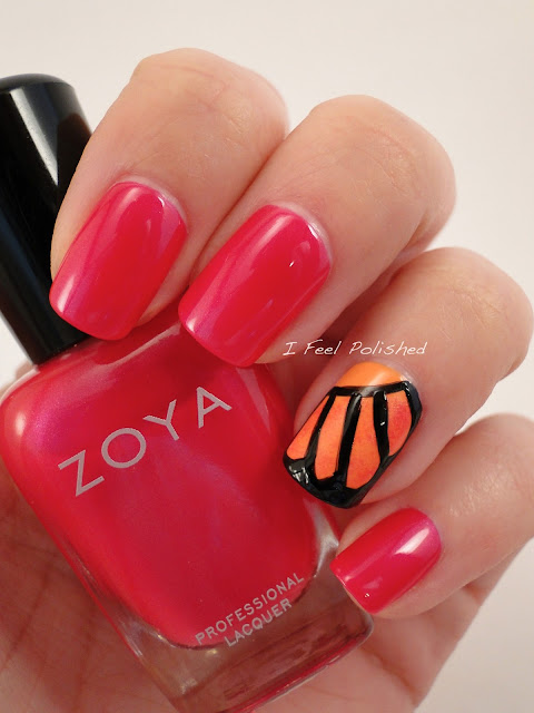 Butterfly Wing Nail How To