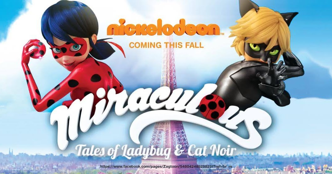 Nickalive nickelodeon usa to premiere miraculous tales - Miraculous logo ...