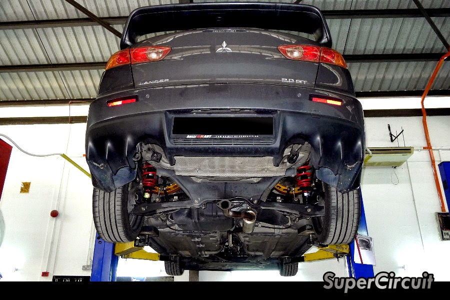 Here Is The Exle Of Mitsubishi Lancer 20 4b11 Fitted With Evo X Bodykit: 2015 Lancer Exhaust At Woreks.co