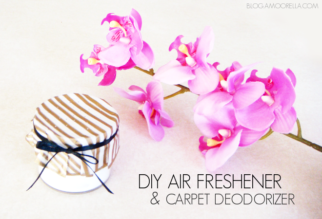 DIY Air Freshener & Carpet Deodorizer