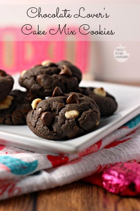 Chocolate Lovers Cake Mix Cookies Mandys Recipe Box