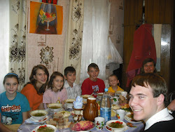 Ukraine New Years Dinner Celebration