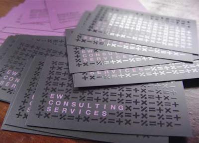 20 ejemplos diseños de tarjetas personales de color purpura