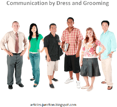 Communication by dress and grooming