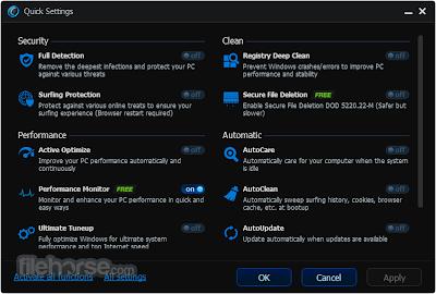 Screenshot Software Advance System