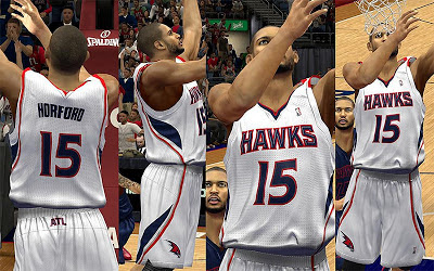 NBA 2K13 Atlanta Hawks Home Jersey Patch