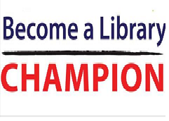 Become an advocate for libraries! Click below!