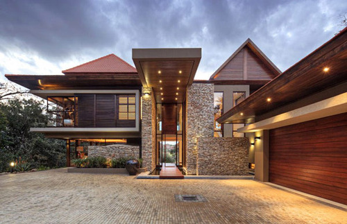 decorating modern home exterior