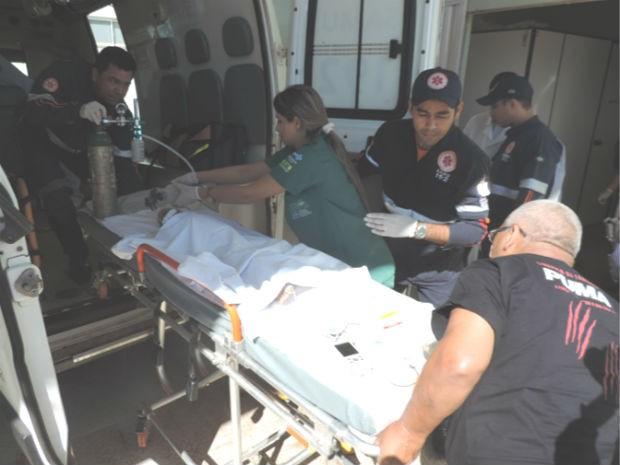 O menino de 2 anos chegou a ser socorrido, mas não resistiu (Foto: Jonivaldo Barbosa/Blog do Sigi Vilares)