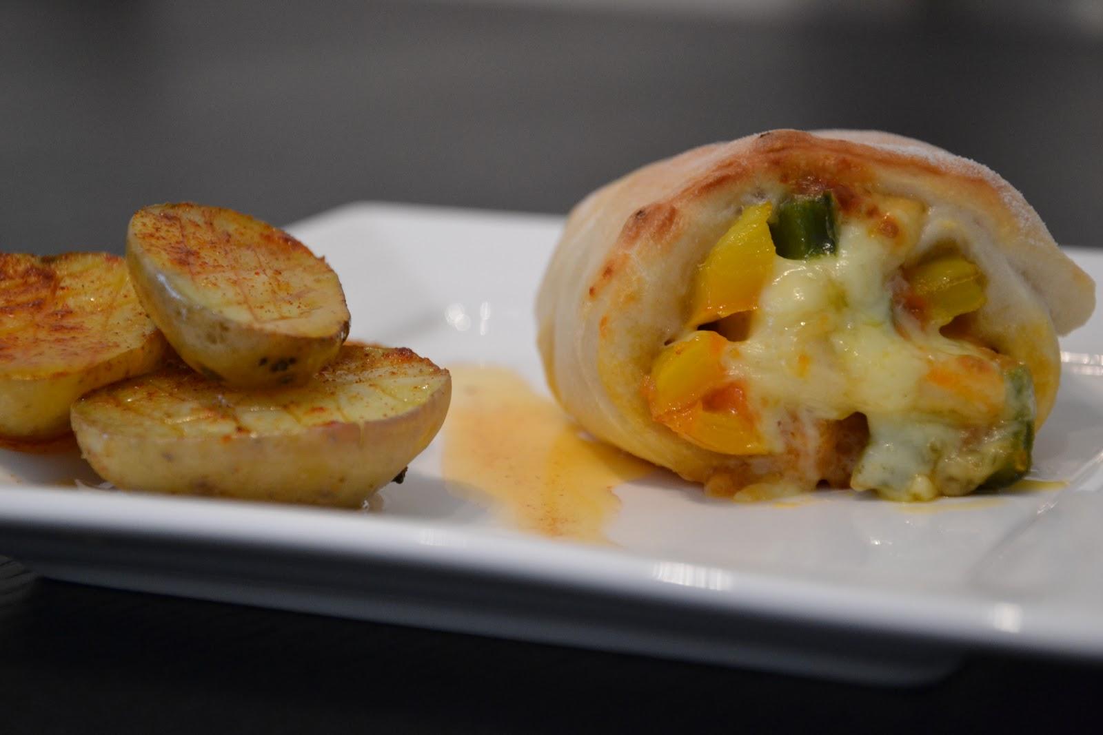 Rollitos de pizza con piment n agenda de huesca - Hoya de cocina ...
