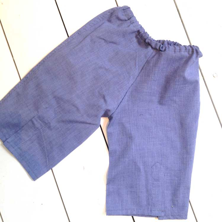 trousers unworn