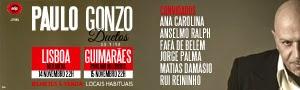 Passatempo Paulo Gonzo no Meo Arena e no Multiusos de Guimarães