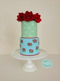 I Love Cake Design Puntata 3 : Eileen Fry Cakes: Cath Kidston inspired cake