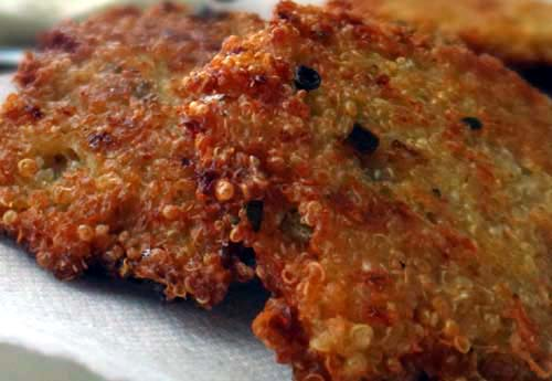Healthy and Tasty Quinoa Patties