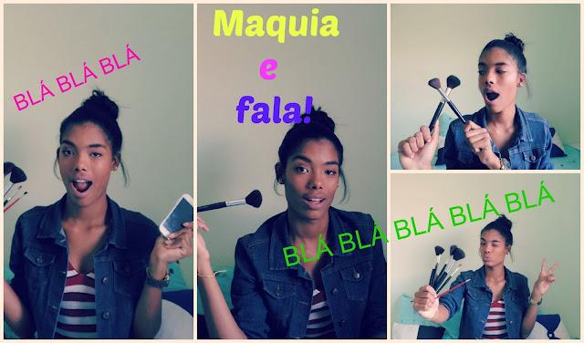 ♥ Vídeo: Maquia e fala, Vida de modelo, blog, canal, vida...♥