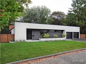 Votre chez vous au qu bec architecture contemporaine vendre fin 40 50 6 - Architecture des annees 80 ...