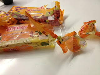 Empty Soreen Wrappers