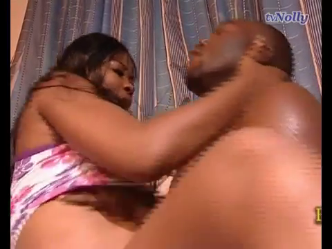 Nollywood Actress Tessy in Raunchy Sex scene with Seun