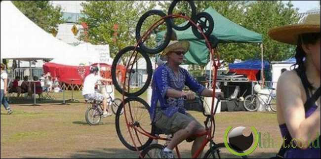 12 Sepeda dengan Desain yang paling tidak Lazim 11