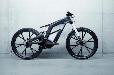 Audi E-Bike Electric Bike HD Wallpaper