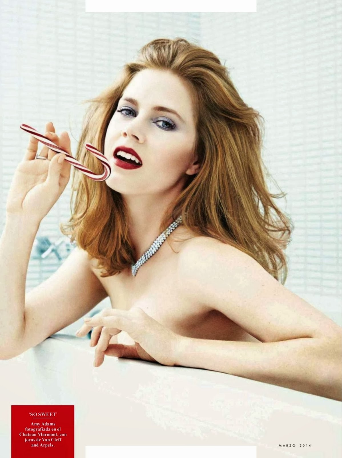 Amy Adams HQ Pictures Vanity Fair Spain Magazine Photoshoot March 2014