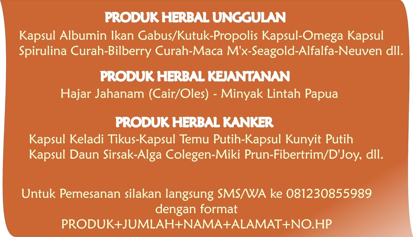 Salam, Kami melayani pembelian Grosir dan Ecer Herbal bermutu