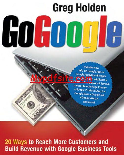 Gogoogle Book By Greg Holden