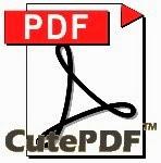 Cara Buat File PDF Dengan CutePDF