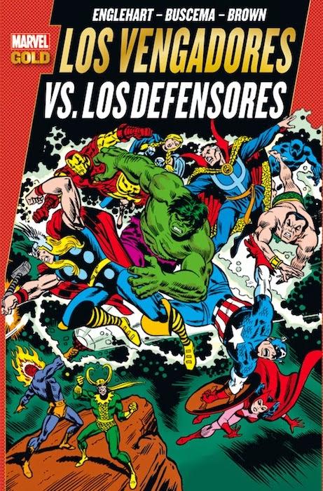 Portada de Vengadores-Defensores-Panini