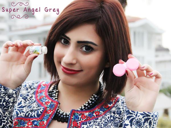 Geo Super Angel Gri Circle Lens