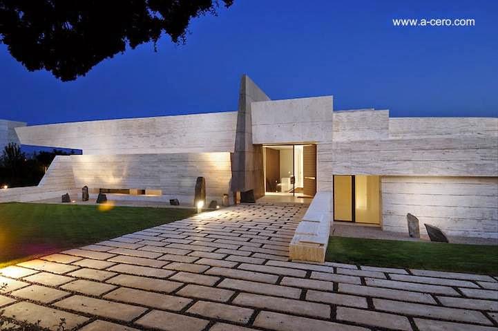 Arquitectura de casas dise os modernos actuales de casas - Casas modernas madrid ...