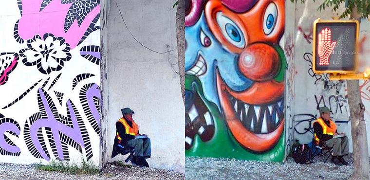 """Artista hace """"Fantasmas"""" de las personas capturadas en Google Street View"""