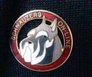 Schnauzers Online Pin