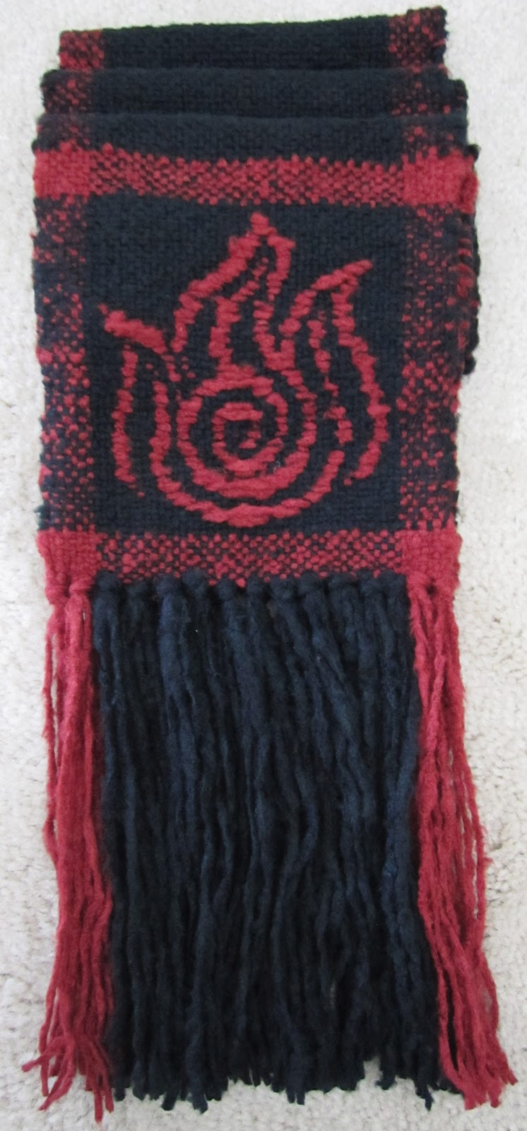knit bunny custom scarves