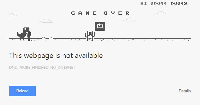 Game Google Chrome Offline