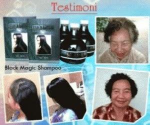 Testimoni Black Magic Kemiri Shampoo 100% Alami