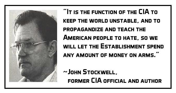 Let the CIA Control the Climate of the World
