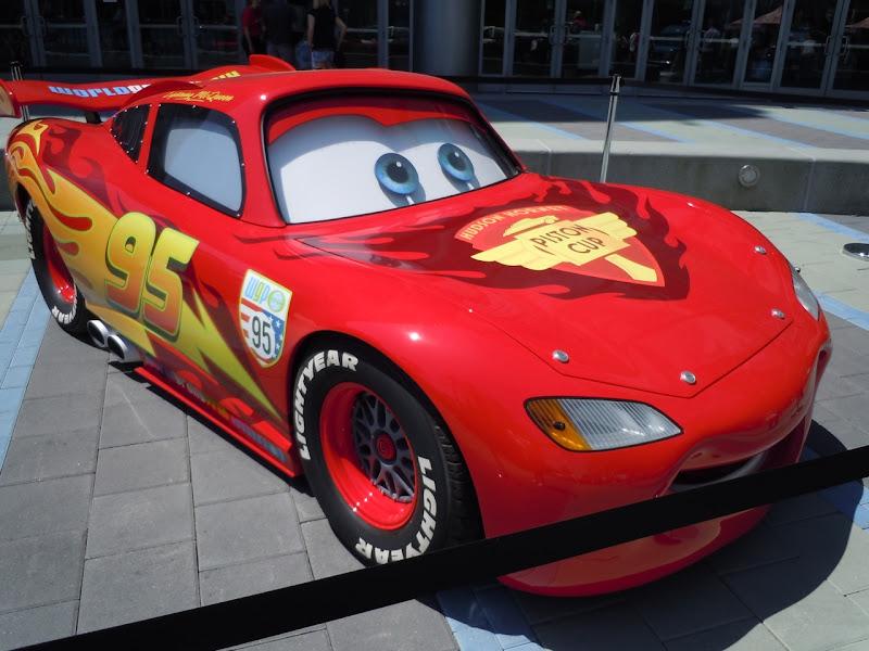 Life-size Lightning McQueen Car