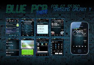 BLUE PCB Theme