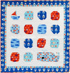 Download the Free Come Sail Away Quilt Pattern from Robert Kaufman Fabrics