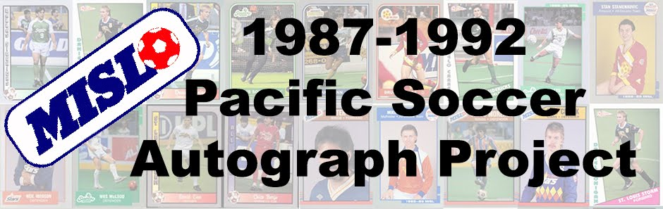 Pacific Soccer Autograph Project