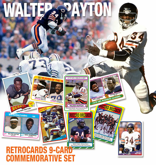 Walter payton earl campbell eric dickerson harvey martin