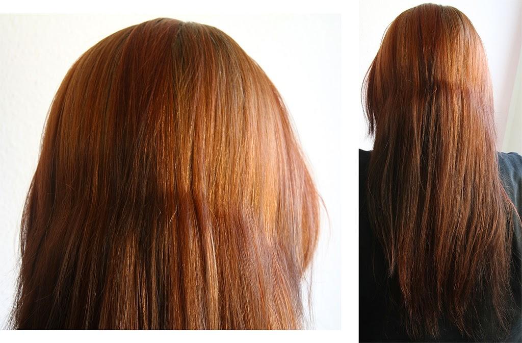 Braune haare mit rotstich entfernen